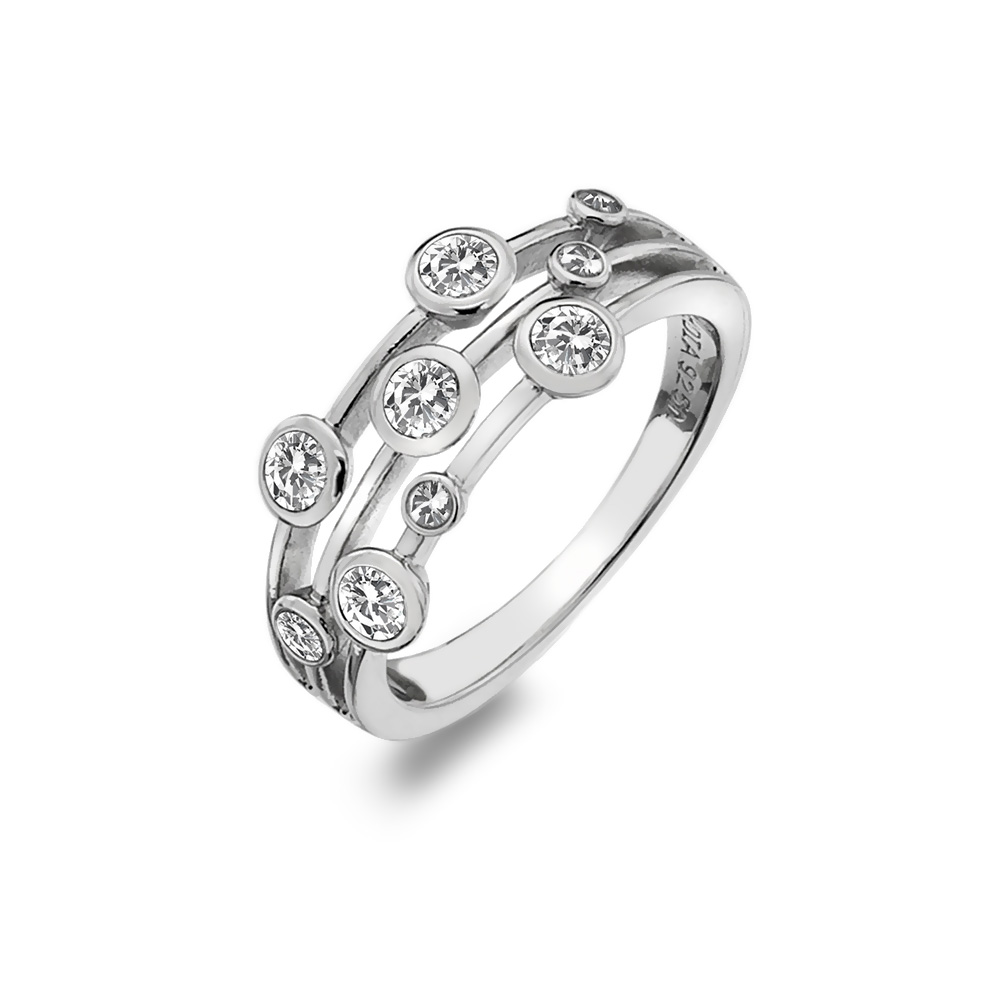 Støíbrný prsten Hot Diamonds Willow DR207