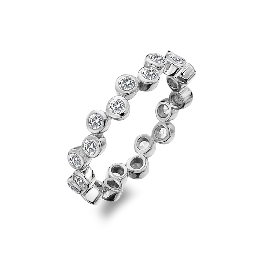 Stříbrný prsten Hot Diamonds Willow DR208