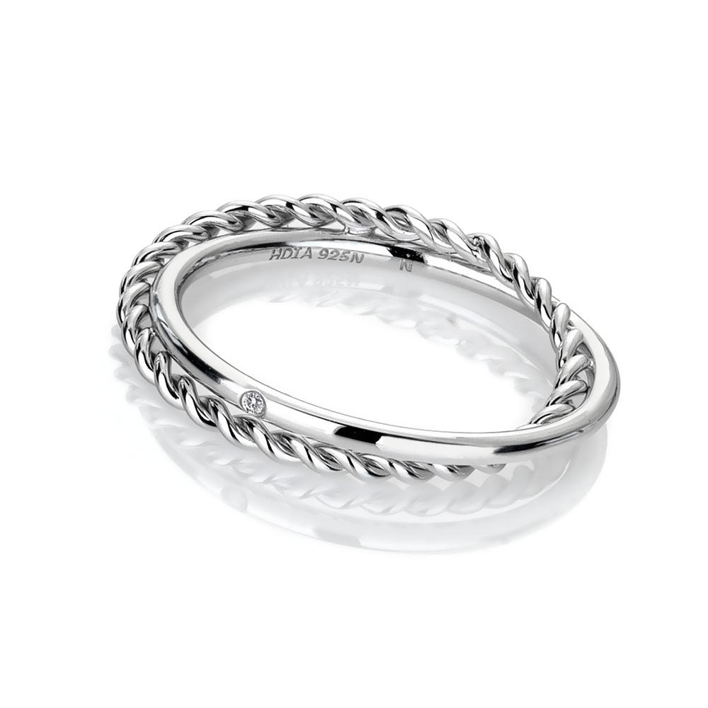 14b68c515 Stříbrný prsten Hot Diamonds Jasmine DR210 | Klenoty-velkoobchod.cz