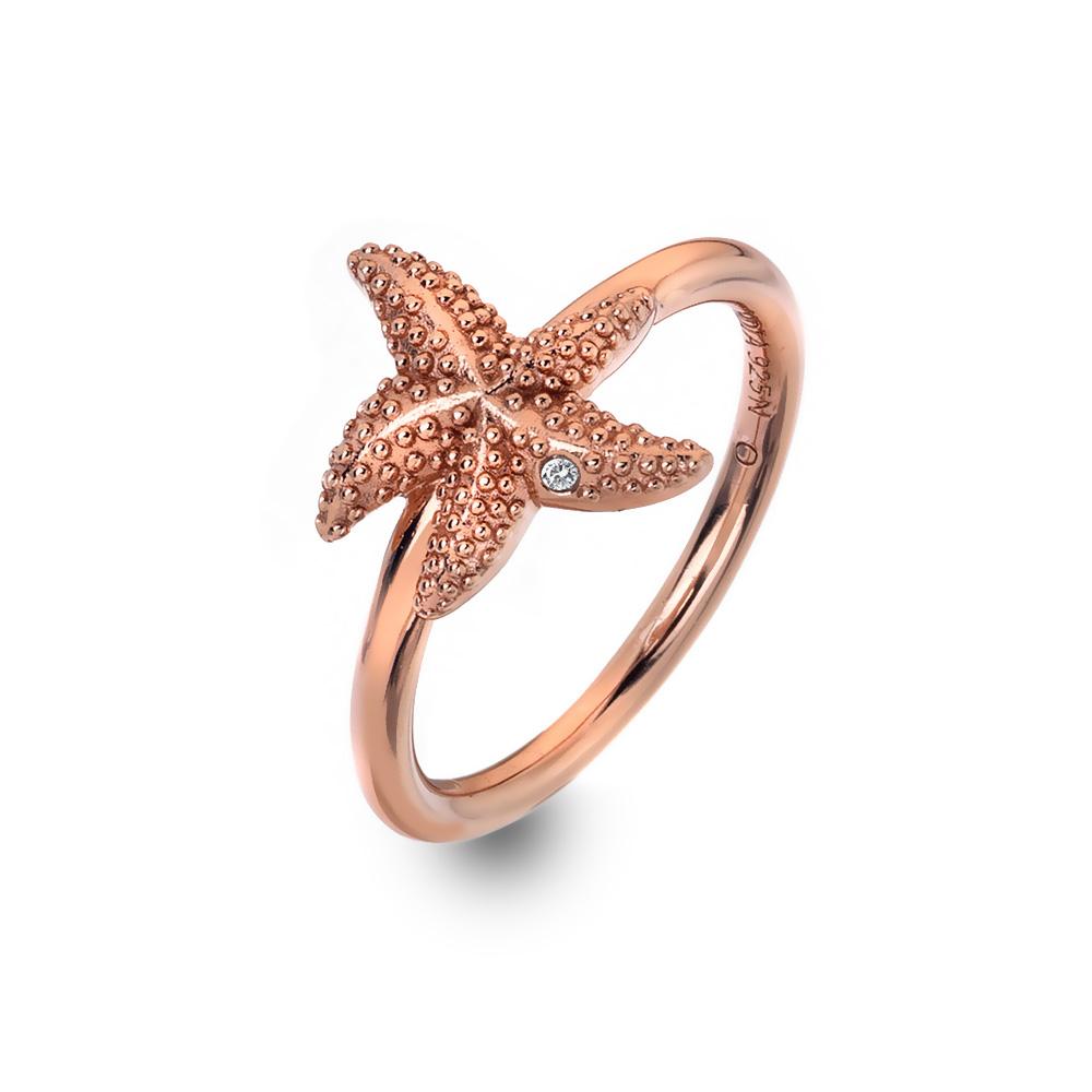 Støíbrný prsten Hot Diamonds Daisy RG DR212