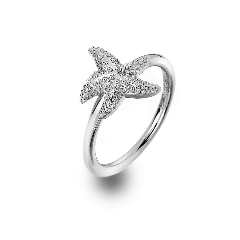 Støíbrný prsten Hot Diamonds Daisy DR213