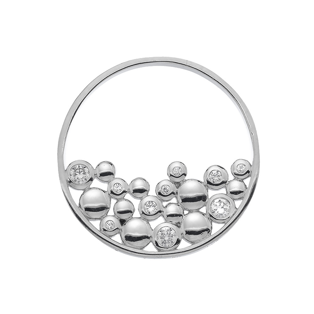Pøívìsek Hot Diamonds Emozioni Nettare Coin EC486-487