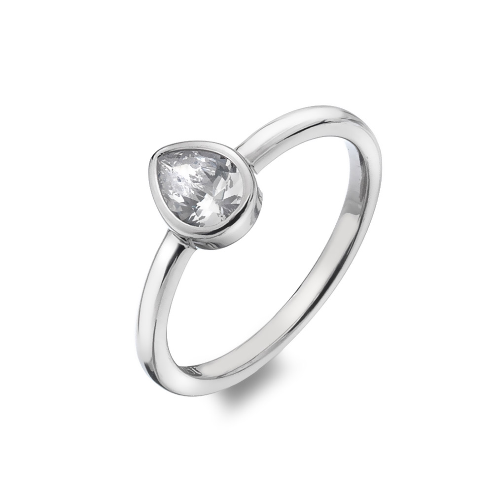 Prsten Hot Diamonds Emozioni Acqua Amore ER025