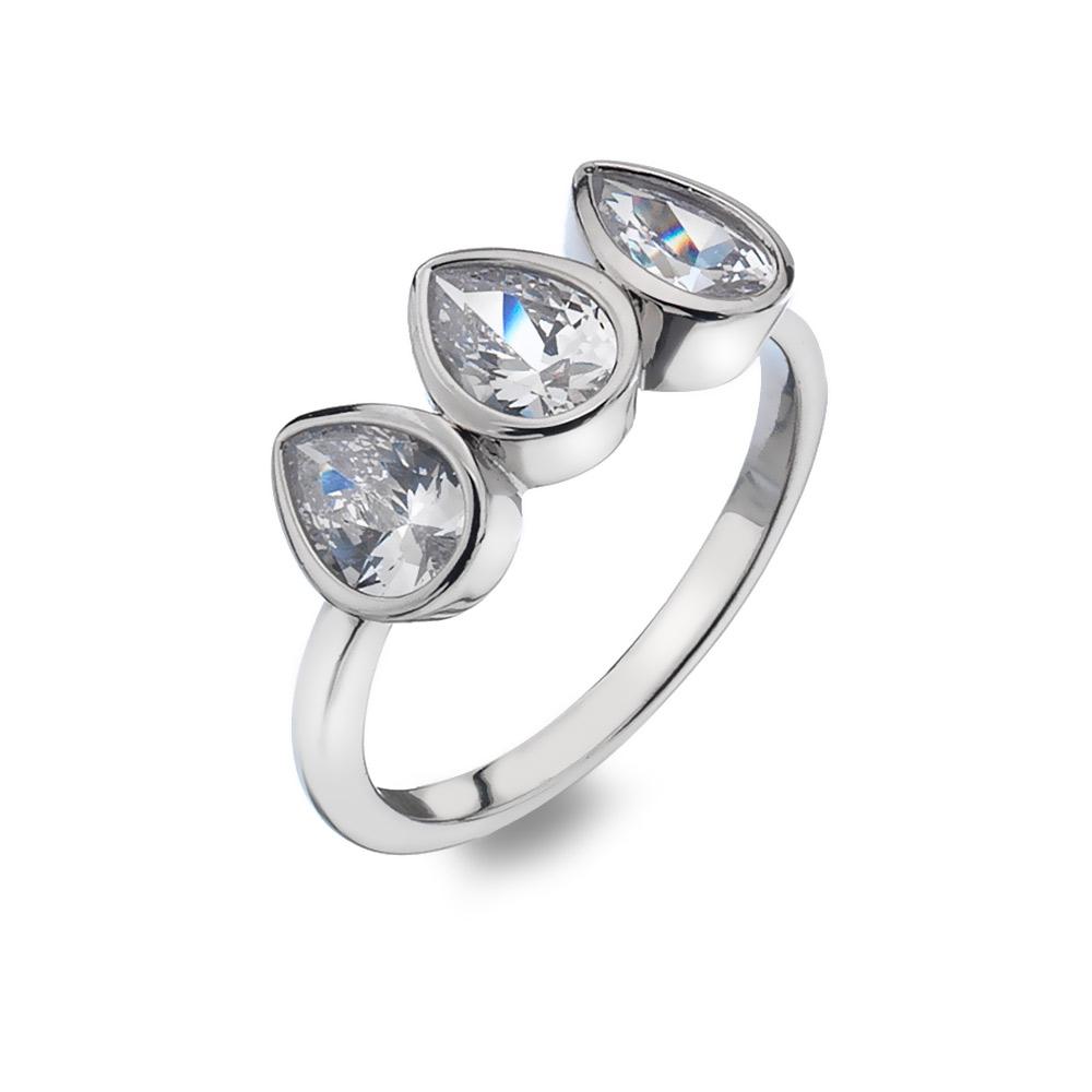 Prsten Hot Diamonds Emozioni Acqua Amore ER026