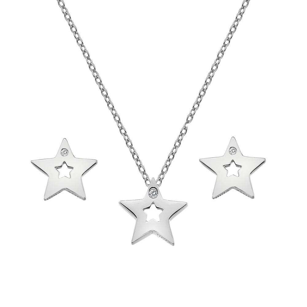 Set Hot Diamonds Diamond Amulets SS132