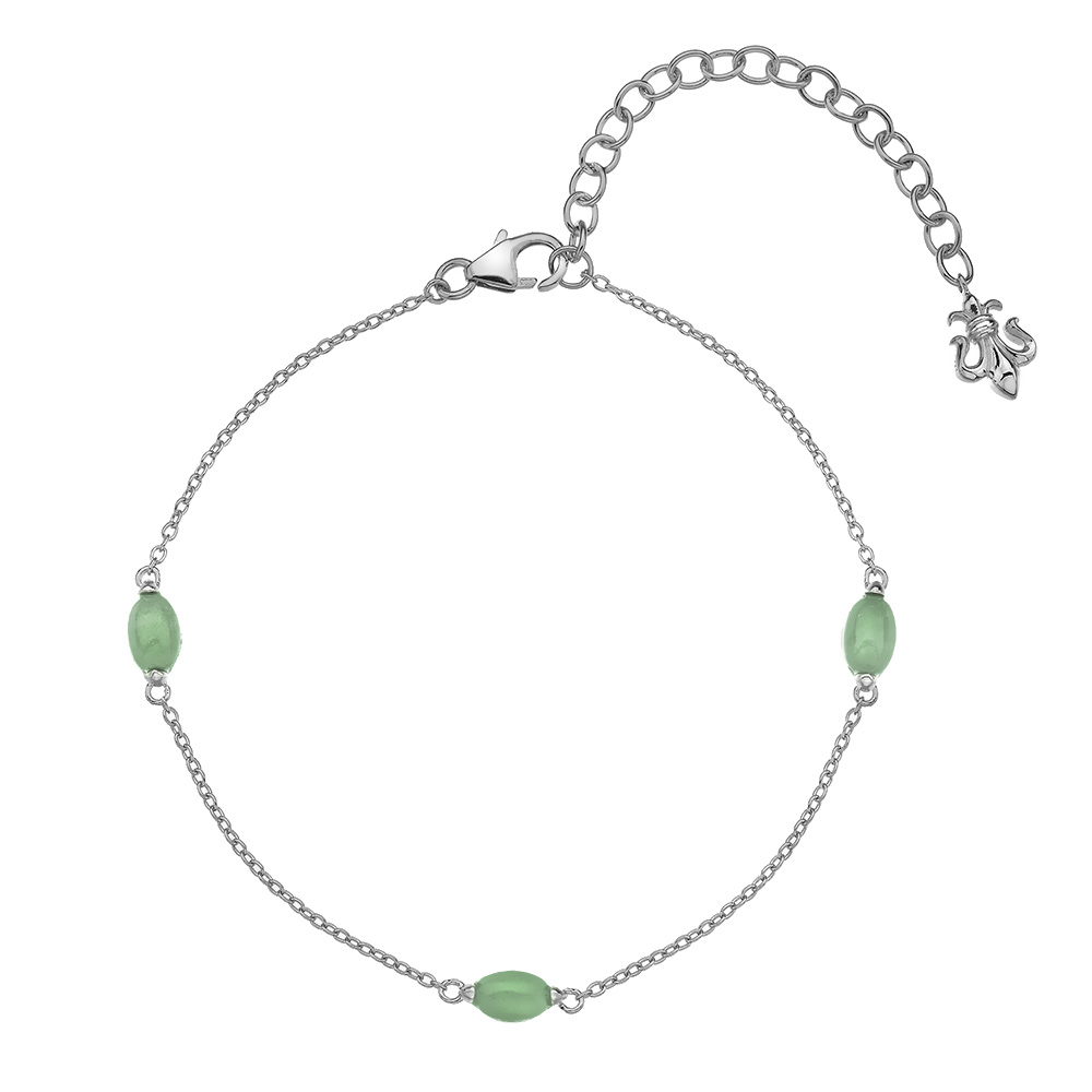 Náramek Hot Diamonds Anais zelený Avanturín AB003