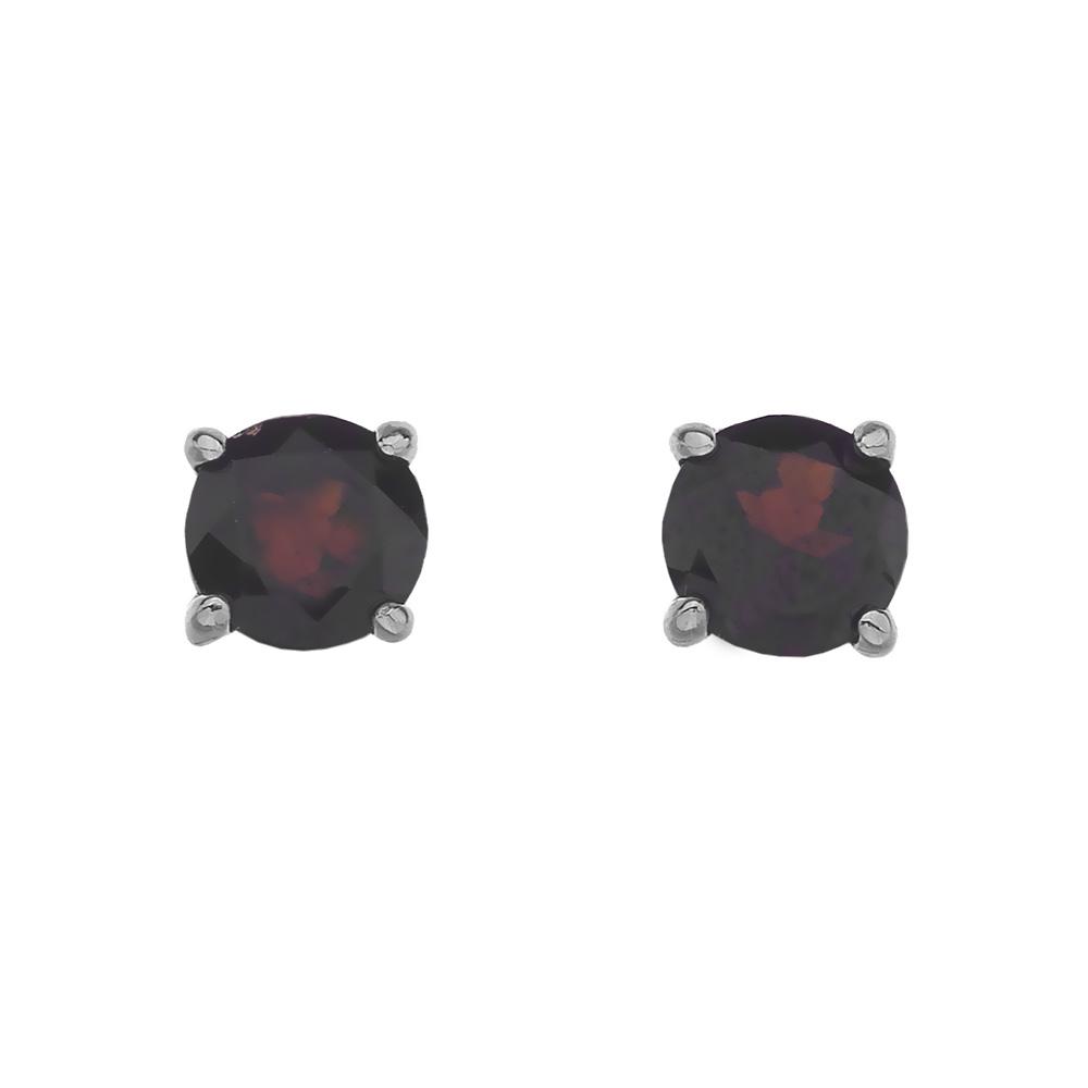 Stříbrné náušnice Hot Diamonds Anais Granát AE001