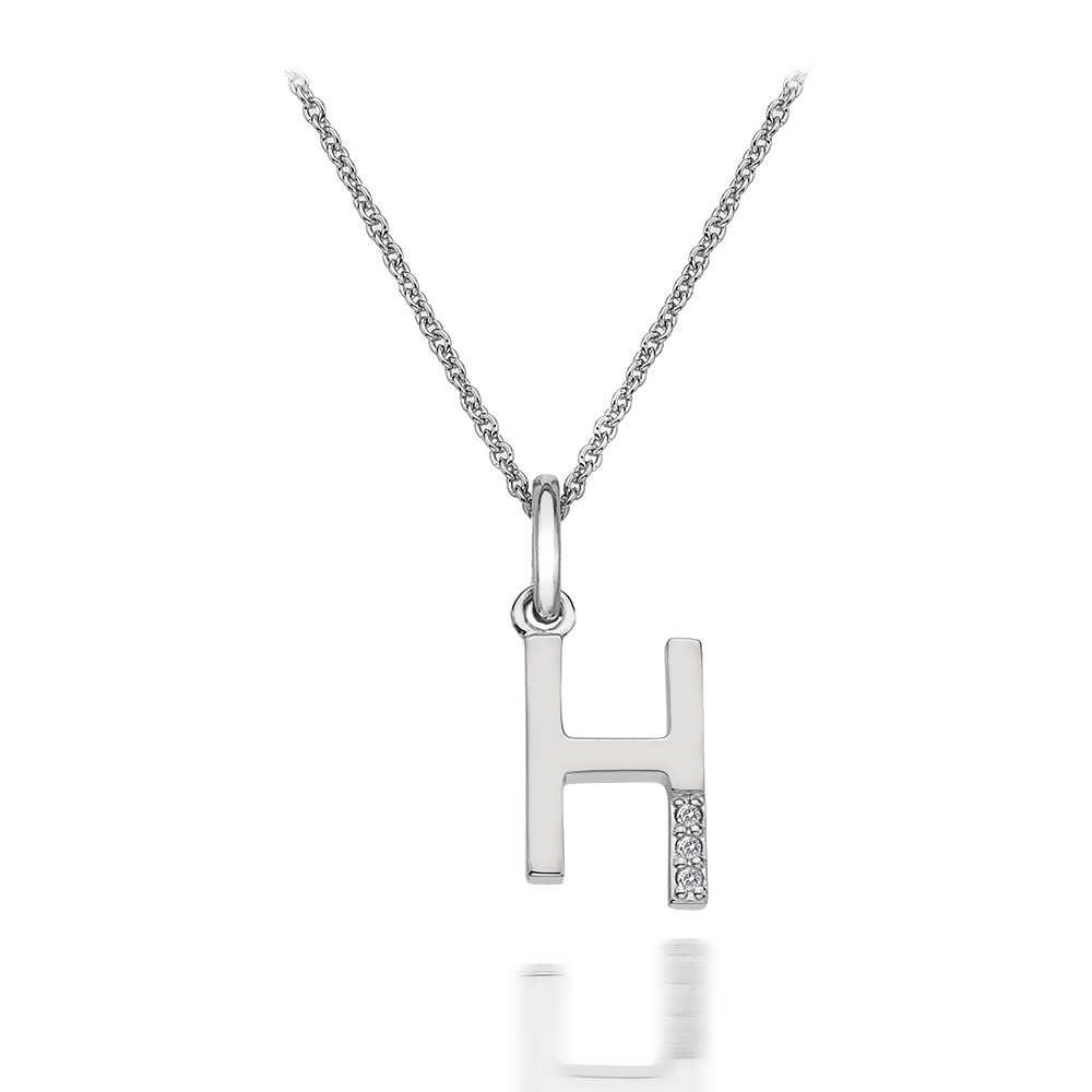 Přívěsek Hot Diamonds Micro H Clasic DP408
