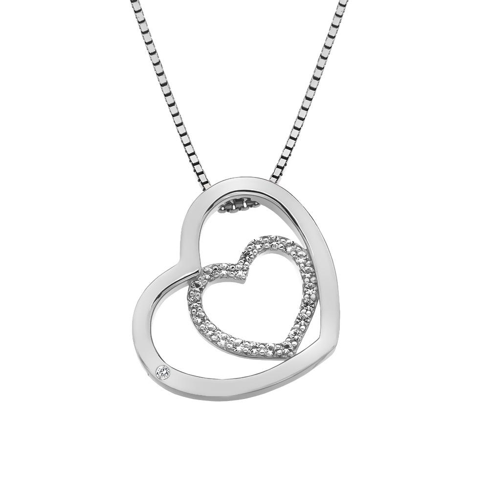Støíbrný pøívìsek Hot Diamonds Adorable Encased DP691