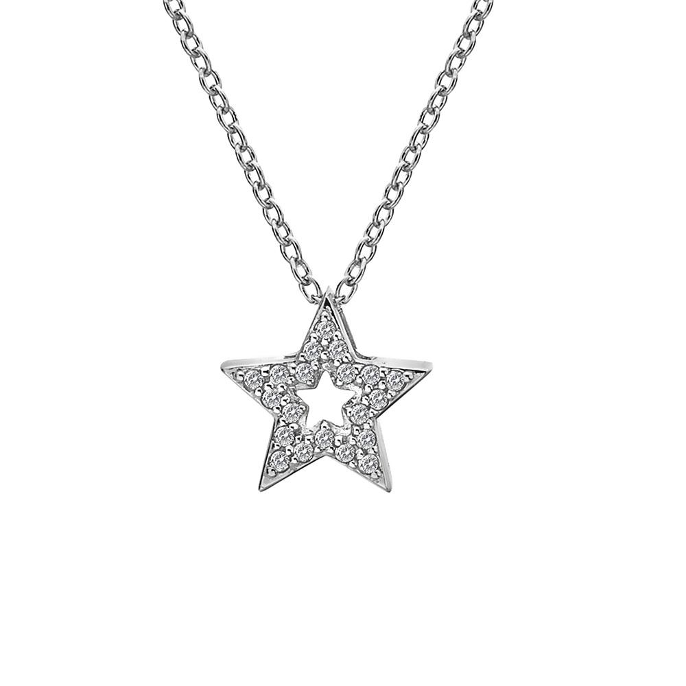 Støíbrný pøívìsek Hot Diamonds Star Micro Bliss DP697