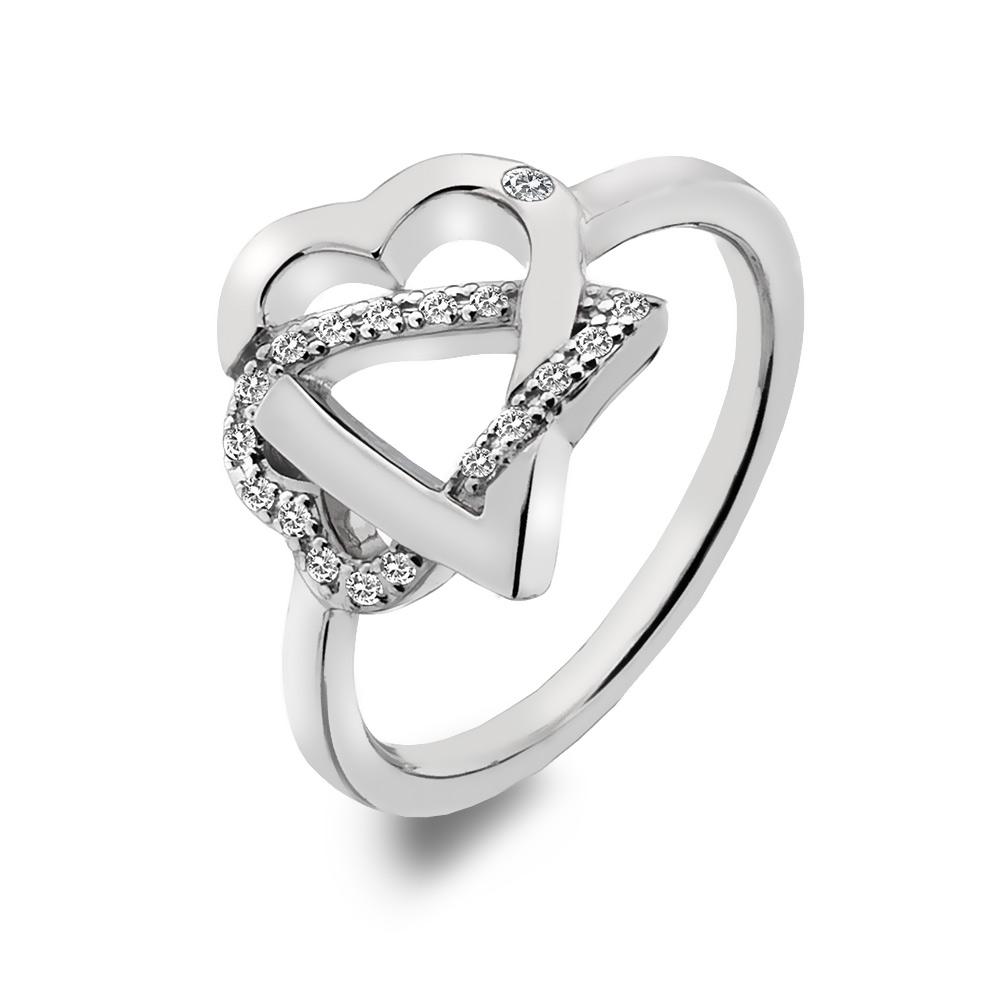 Stříbrný prsten Hot Diamonds Adorable DR203