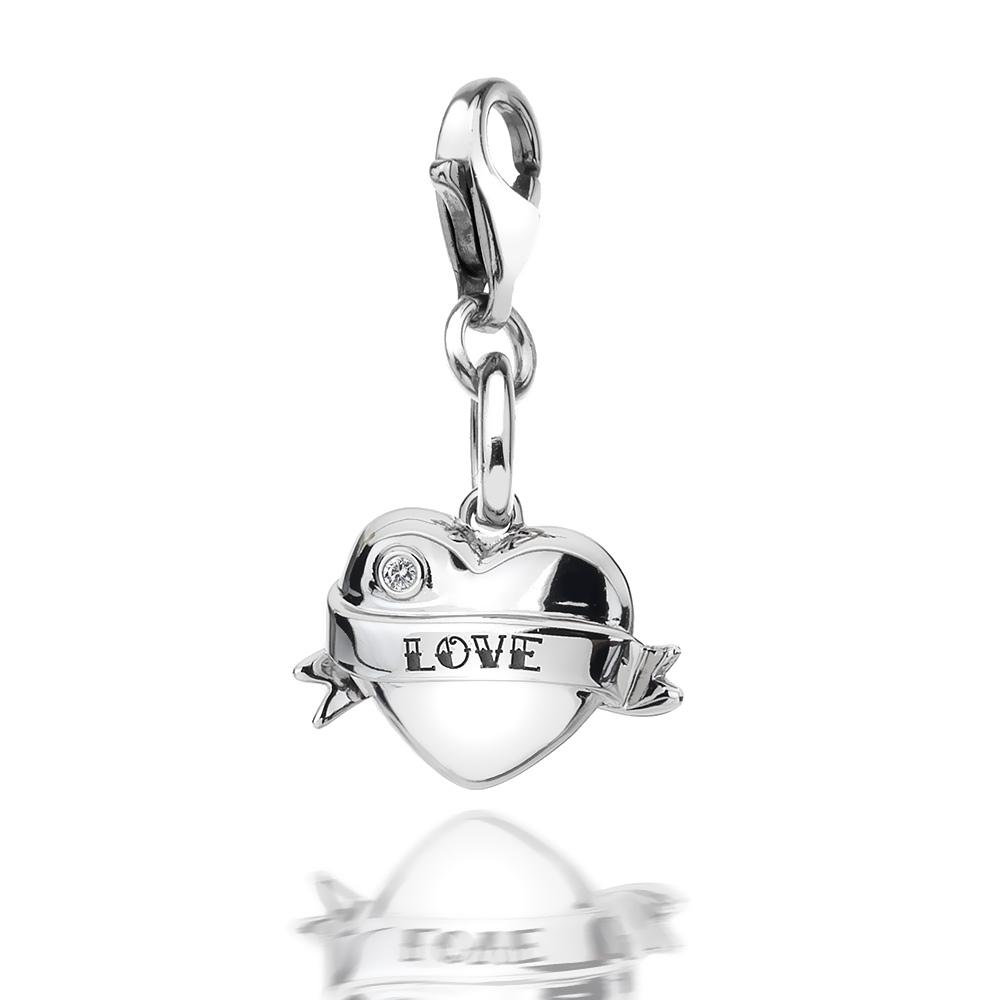 Přívěsek Hot Diamonds Love Heart Charm DT241