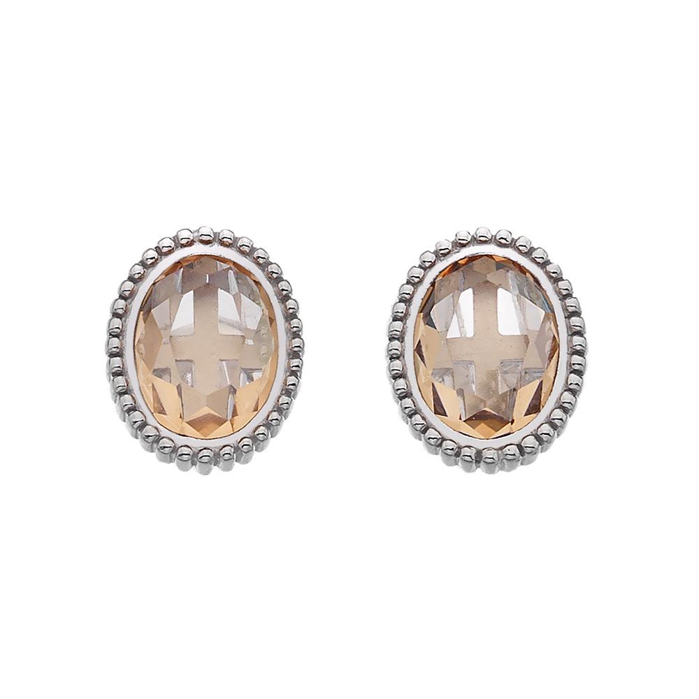 Stříbrné náušnice Hot Diamonds Emozioni Loyalty EE029