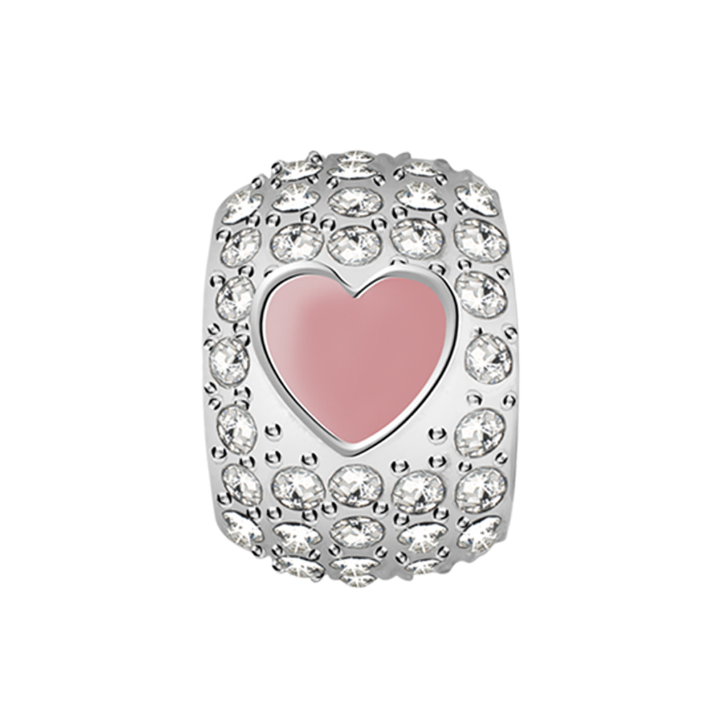 Přívěsek s krystaly Morellato Drops srdce CZ958