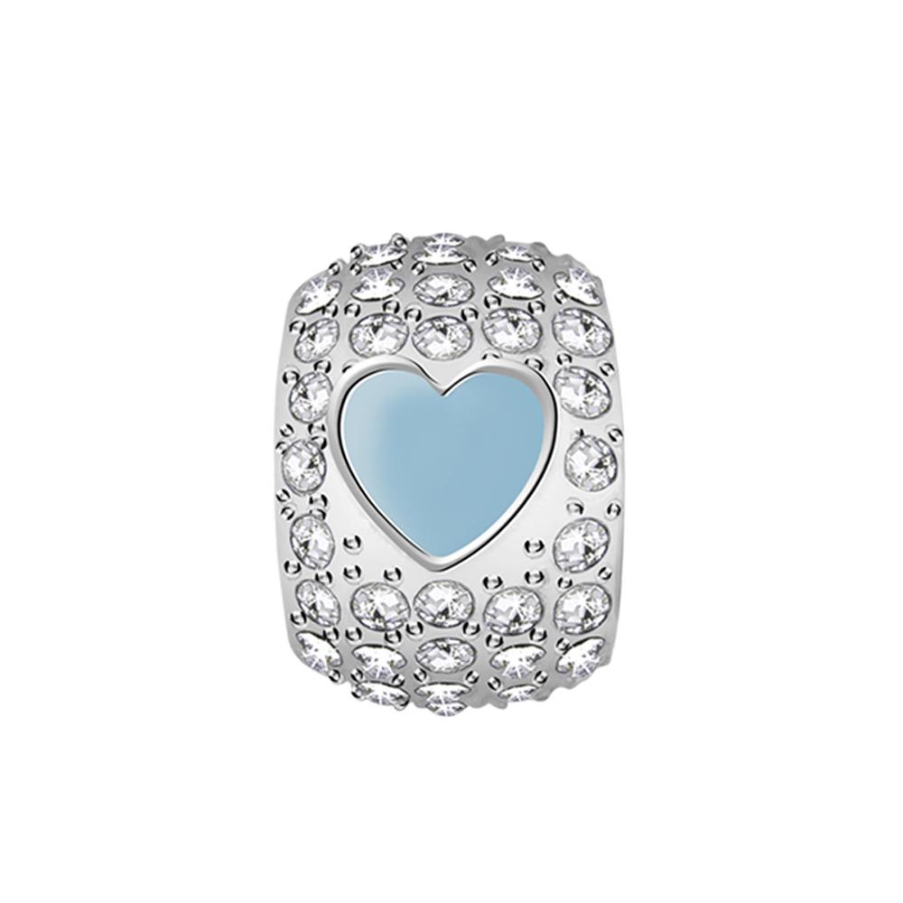 Přívěsek s krystaly Morellato Drops srdce CZ959