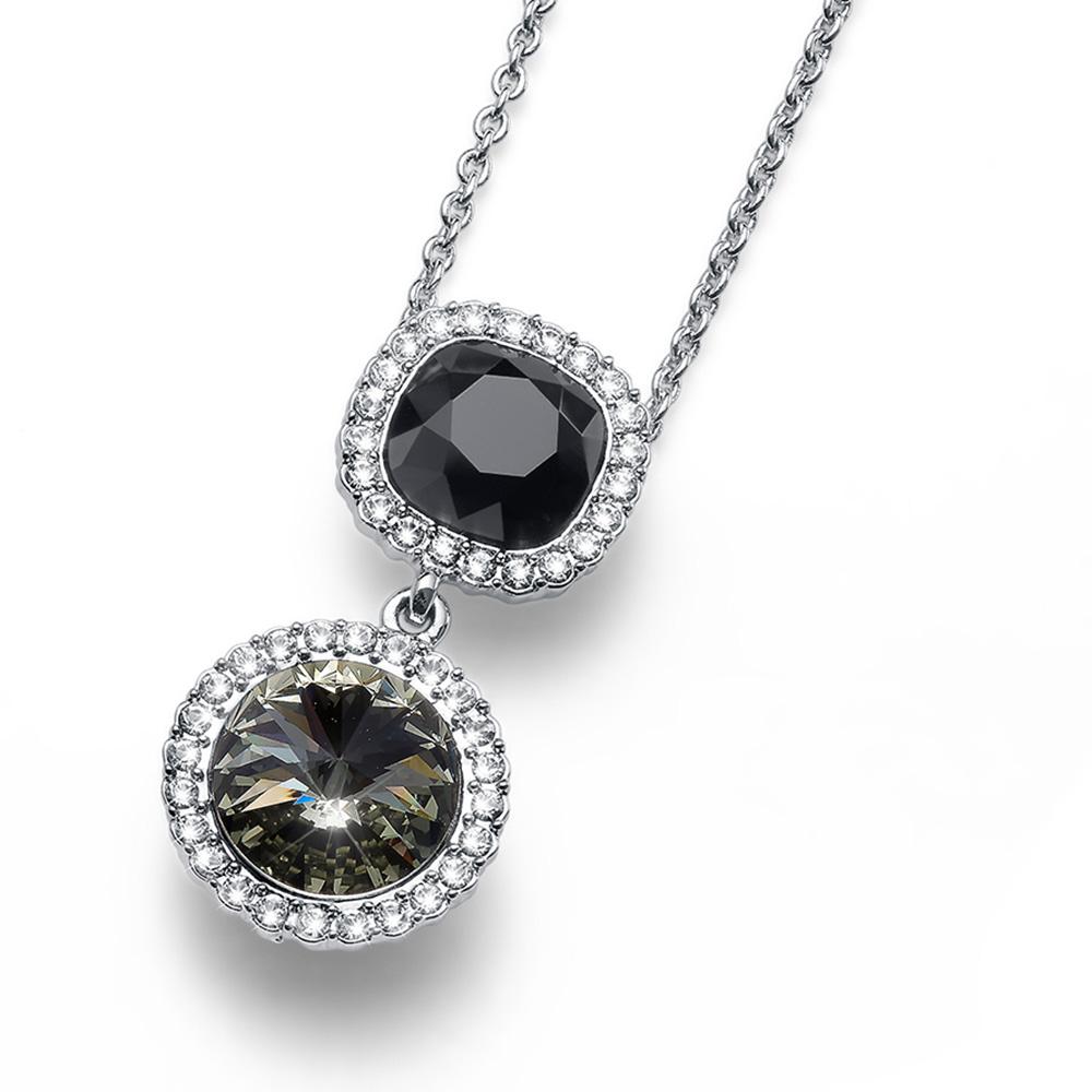 Stříbrný přívěsek s krystaly Swarovski Oliver Weber 11755-215