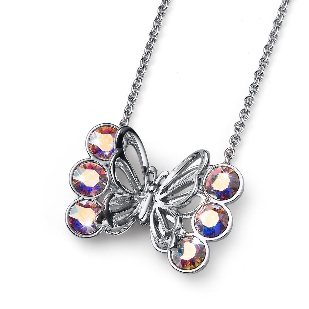 Stříbrný  náhrdelník s krystaly Swarovski Oliver Weber 11761