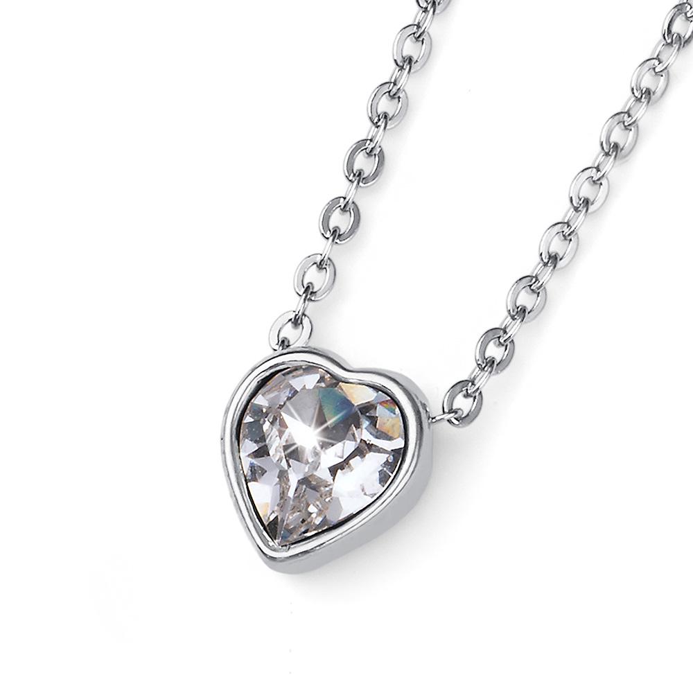 Stříbrný  přívěsek s krystaly Swarovski Oliver Weber 11785R-001