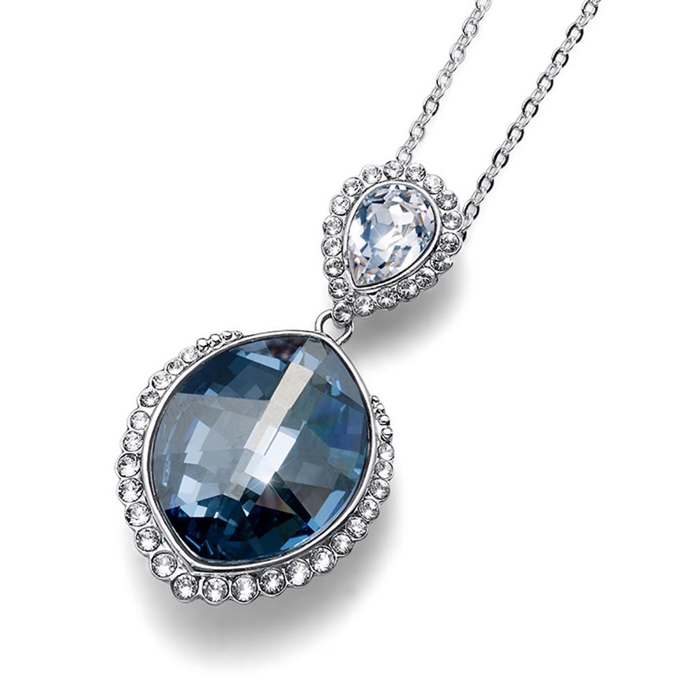 Stříbrný přívěsek s krystaly Swarovski Oliver Weber 11786-923