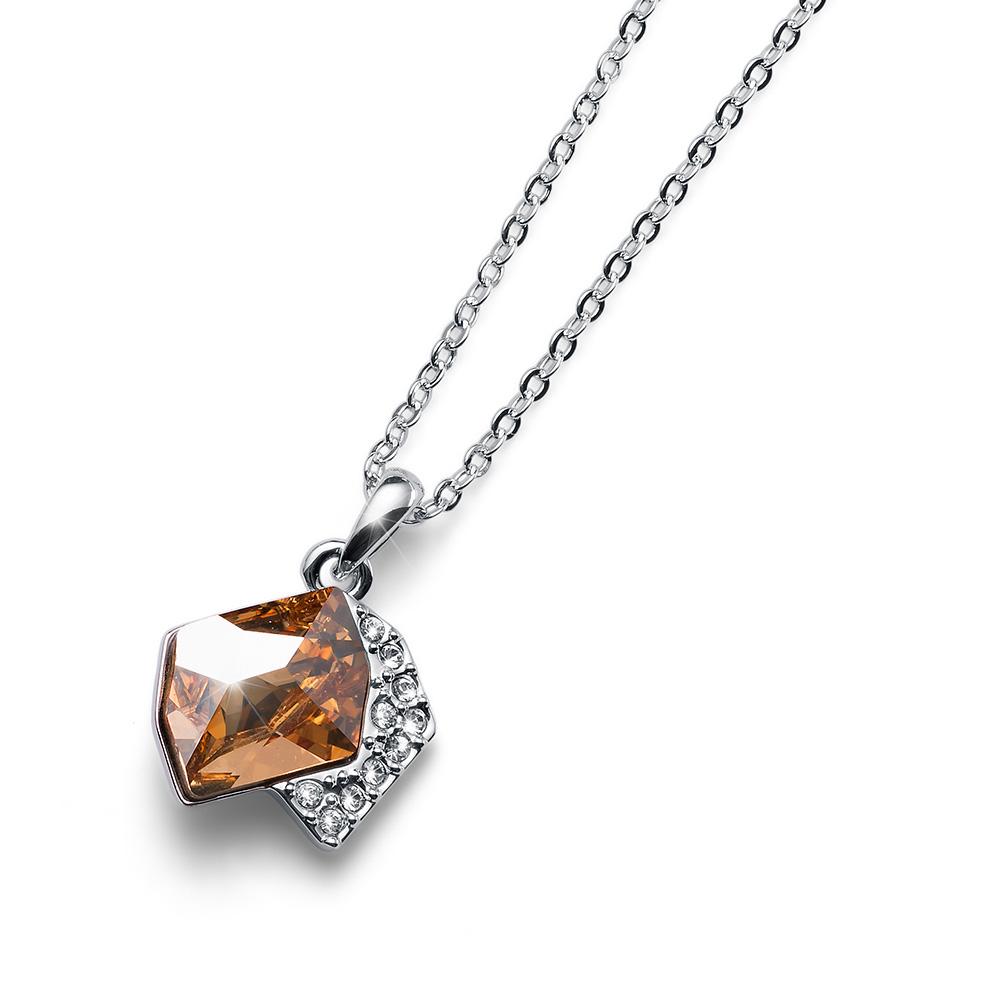 Stříbrný přívěsek s krystaly Swarovski Oliver Weber 11795