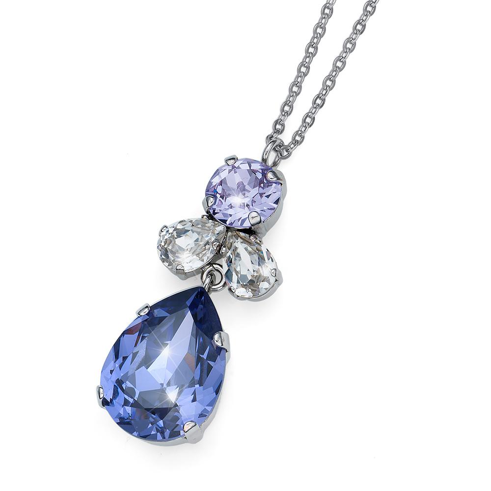 eb681633b Přívěsek s krystaly Swarovski Oliver Weber Jazzy simple violet 11872-VIO