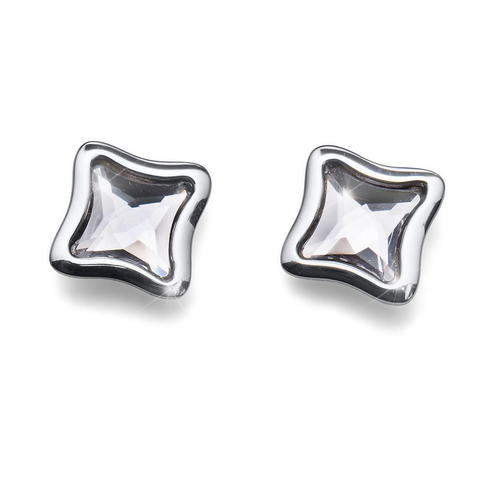 Stříbrné náušnice s krystaly Swarovski Oliver Weber 22676