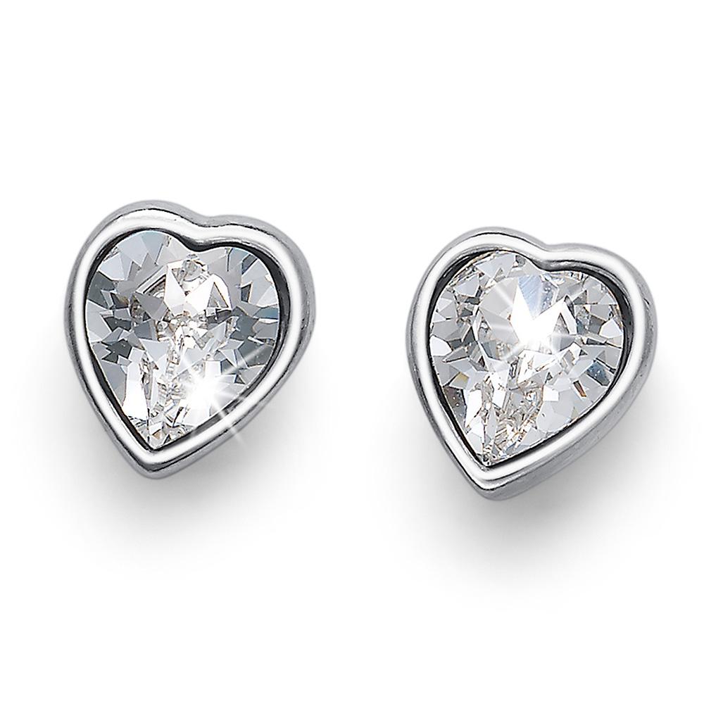 Stříbrné náušnice s krystaly Swarovski Oliver Weber 22679R-001