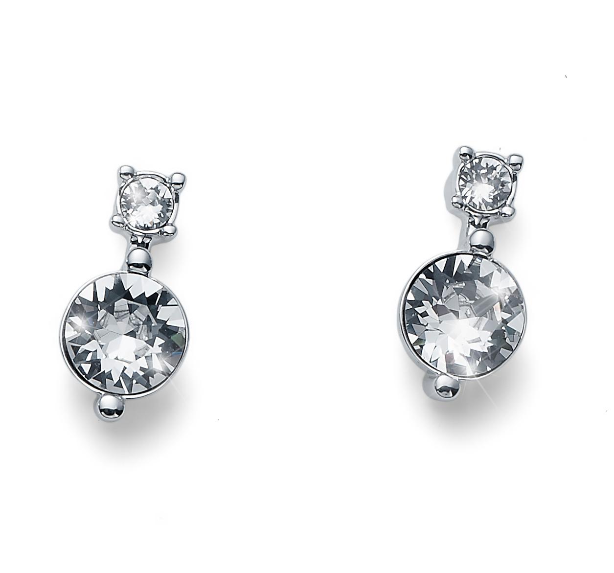Náušnice s krystaly Swarovski Oliver Weber Everyday 22715