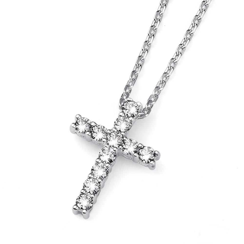 Stříbrný přívěsek s krystaly Swarovski Oliver Weber 61127