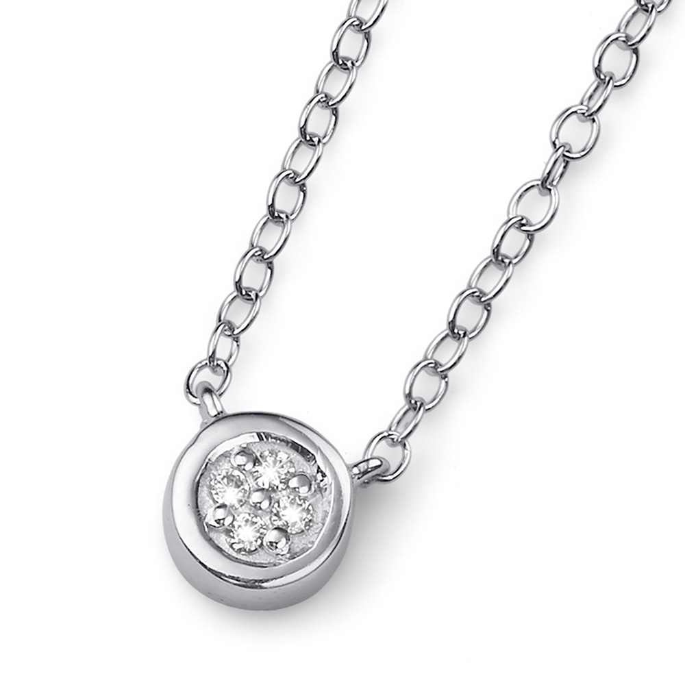 Stříbrný přívěsek s krystaly Swarovski Oliver Weber 61130R