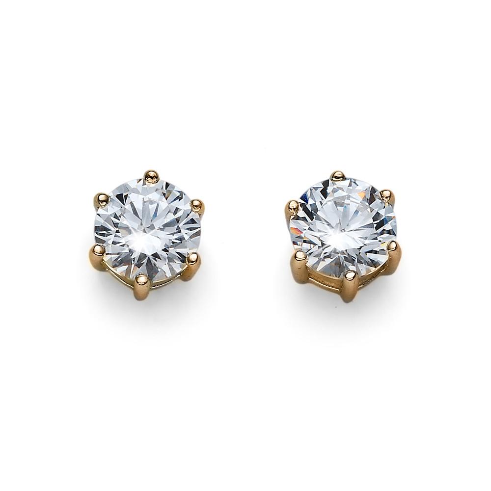 Náušnice s krystaly Swarovski Oliver Weber 62066G-001