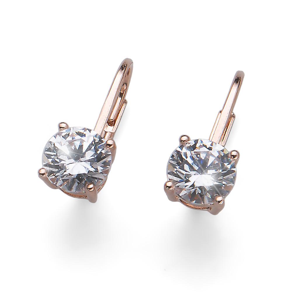 Náušnice s krystaly Swarovski Oliver Weber 62071RG