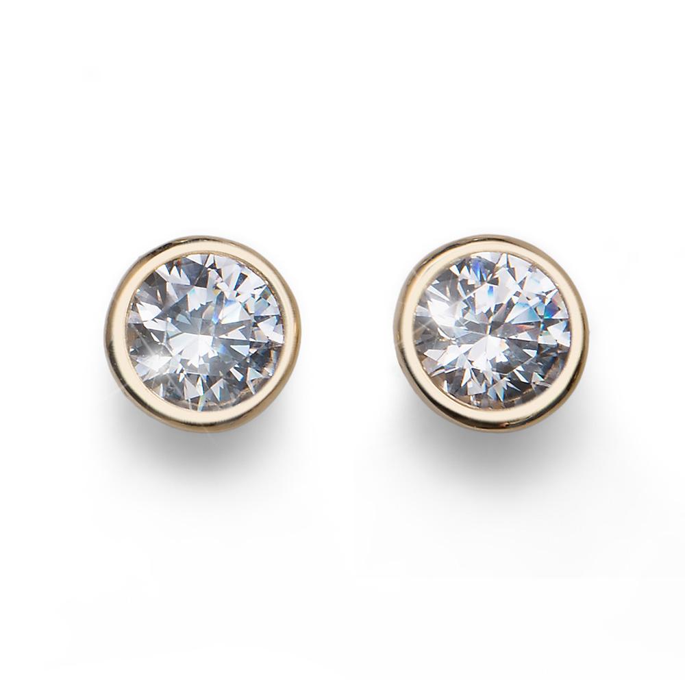 Náušnice s krystaly Swarovski Oliver Weber 62072G