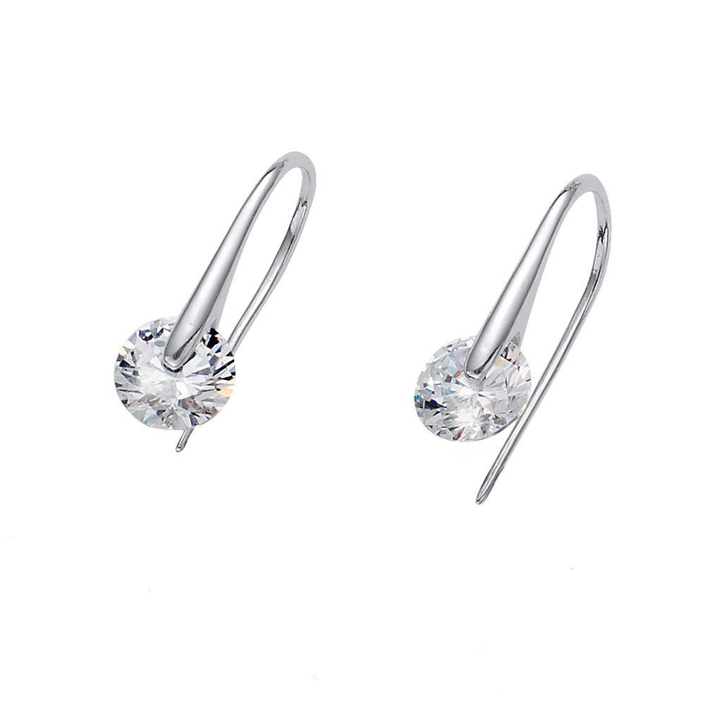 Náušnice s krystaly Swarovski Oliver Weber Wheely 62079