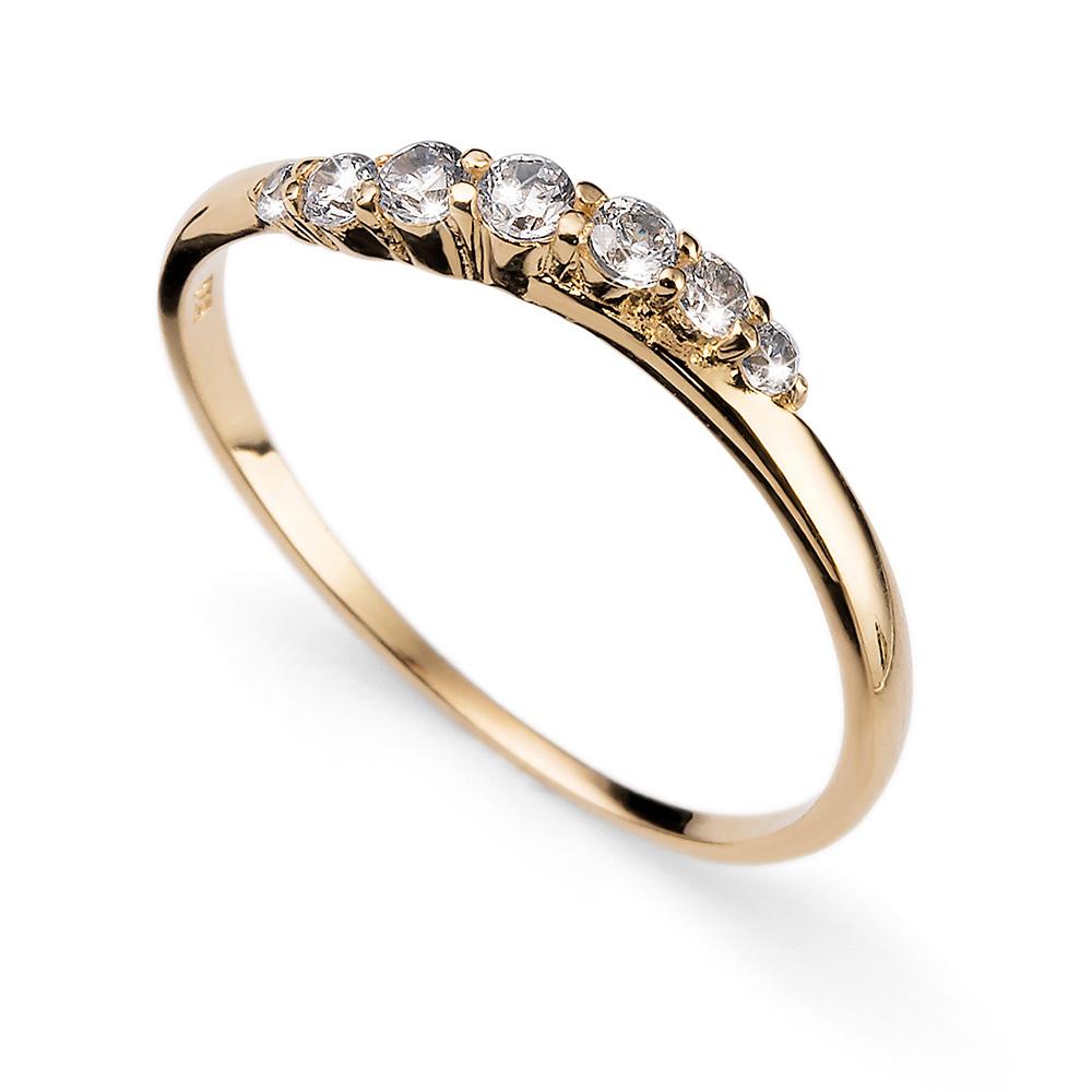 Prsten s krystaly Swarovski Oliver Weber 63227GL