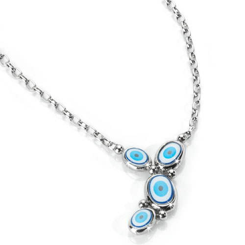 Náhrdelník MISS SIXTY Blue Eyes MKZ03
