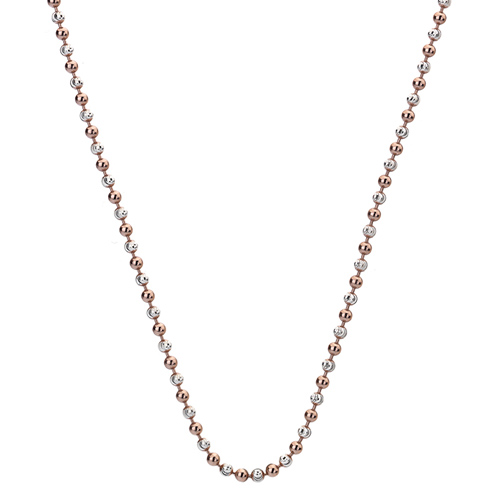 Støíbrný øetízek Hot Diamonds Emozioni Bead Silver Rose 61