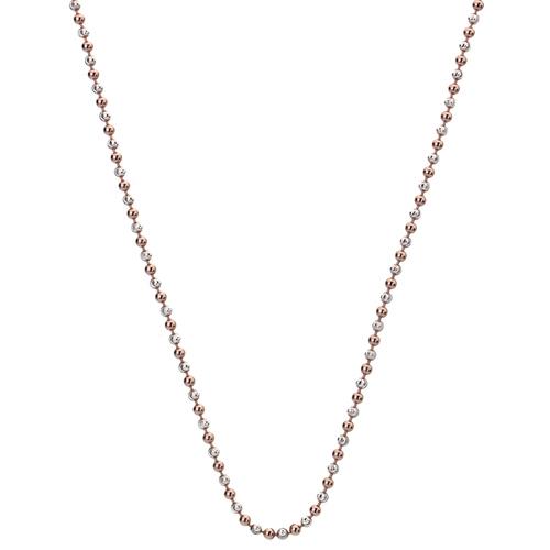 Stříbrný řetízek Hot Diamonds Emozioni Bead Silver Rose 89