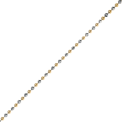 Støíbrný øetízek Hot Diamonds Emozioni Bead Yellow