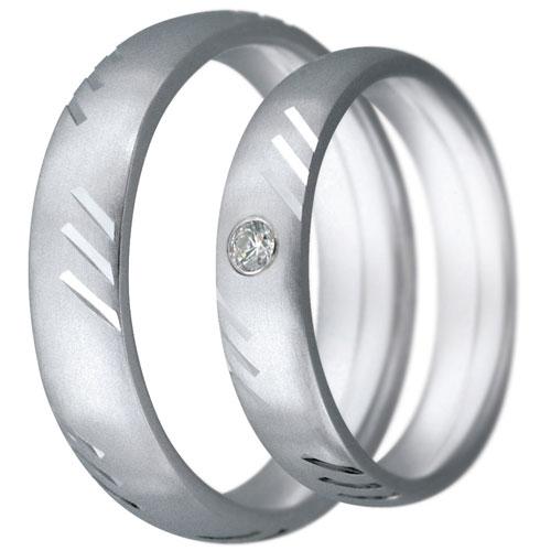 Snubní prsteny kolekce CLAUDIA8