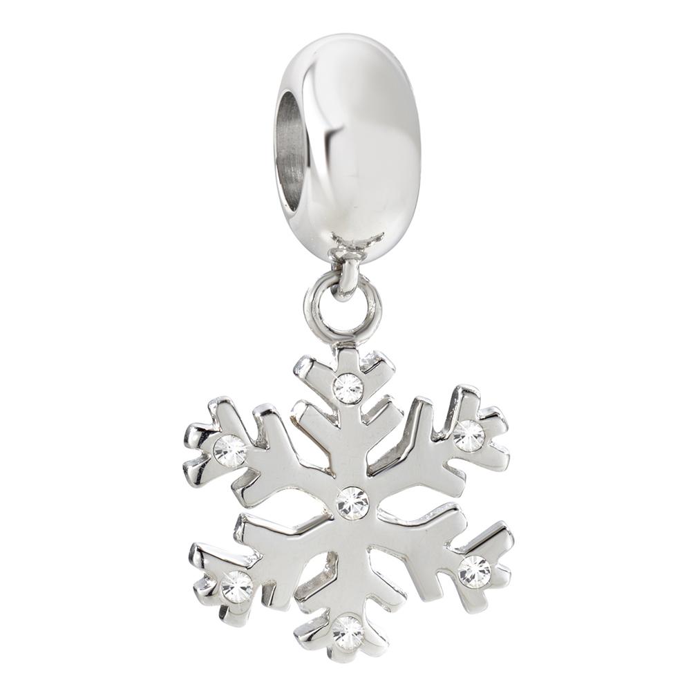 Přívěsek Morellato Drops Snowflake CZ647