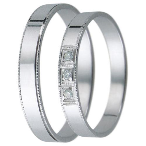 Snubní prsteny kolekce D24