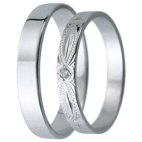 Snubní prsteny kolekce D31