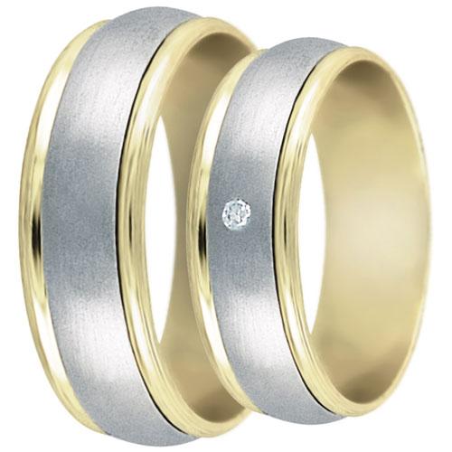 Snubní prsteny kolekce DANA1