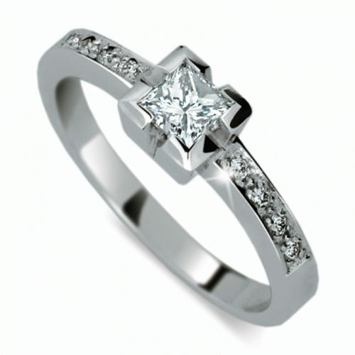 Briliantový prsten Danfil DF1645