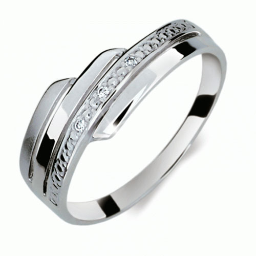 Briliantový prsten Danfil DF1844