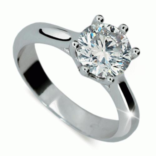 Briliantový prsten Danfil DF1885