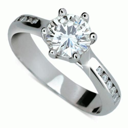 Briliantový prsten Danfil DF1886