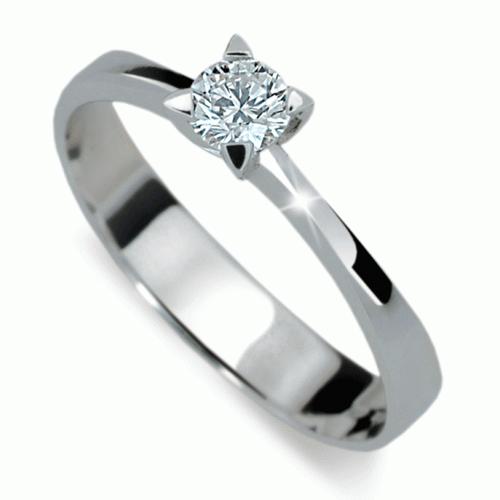 Prsten s briliantem Danfil DF1895