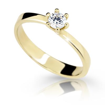Prsten s brilianty Danfil DF1903Z